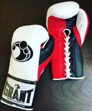 GRANT BOXING eBay Store - AUTHENTIC 10 oz Pro Fight (Puncher's) Gloves - White