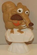 2009 Scrat Squirrel Bobble Head Pencil Topper General Mills Cereal Ice Age 3