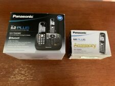 Panasonic KX-TG6582 DECT 6.0+ Bluetooth Cordless Phone System with 3 Handsets