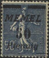 Memelgebiet 61b postfrisch 1922 Freimarken