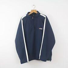 Vintage FILA Soft Shell 1/4 Zip Fleece Insulated Pullover Jacket | Italian | XL