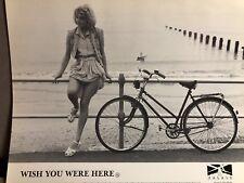 Vintage 1987 E Lloyd WISH YOU WERE HERE Romance Movie B&W LOBBY CARD PHOTO SET