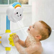 Baby Badespielzeug Nette Wolke Regenbogen Spritzen Dusche Sprinkler Wasserhahn