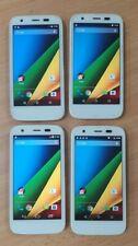 4x Motorola-MOTO G 1st Gen XT1039 8GB Unlocked Smartphone - White - Free P & P