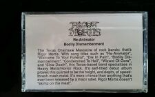 Rigor Mortis Demo Cassette Sampler WHILE SUPPLIES LAST!