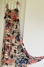 Tommy hilfiger Authentic Maxi Dress  Runaway Style Brand New With Tags, Size 10