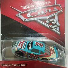 Disney Pixar Cars Diecast BUMPER SAVE Ponchy Wipeout Piston Cup Racer #90