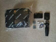 Canon PowerShot G7 X Mark II Camera (Tripod, Filter and EXTRA BATTERY Included)