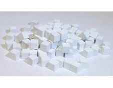 Games Accessories: Cubes - Wooden Cubes 8mm White x 30