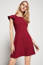NEW BCBGeneration Flutter Back Dress, Purple Berry, Size 8, RRP £100