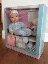 "Madame Alexander 16"" Middleton Baby Doll & Kitty 8 Pc Newborn Nursery Set NIB"