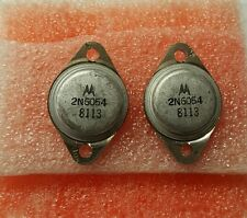 4 PSC  MOTOROLA 2N6054  POWER TRANSISTOR DATA CODE  8113  VINTAGE RARE