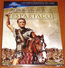 ESPARTACO / SPARTACUS Stanley Kubrick - English español DVD R2 DVD+LIBRO PRECINT