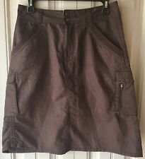 REI Women's Size 6 Skirt 100% Organic Cotton Brown