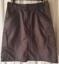 REI Women's Size 6 Skirt 100% Organic Cotton Brown