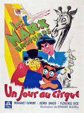 Marx Brothers at the circus movie poster print 2