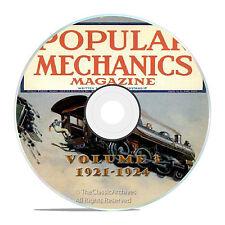 Vintage Popular Mechanics Magazine, Volume 3 DVD, 1921-1924, 44 issues, V13