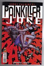 PAINKILLER JANE #1 - AMANDA CONNER COVER - JUAN SANTACRUZ ART - 2014