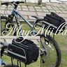 Cycling Bicycle Bike Pannier Saddle Rear Rack Seat Shoulder Bag Rain Cover BQ