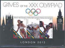 PAPUA NEW GUINEA  LONDON OLYMPICS 2012  SHEET MINT NH