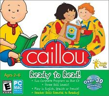Caillou Ready to Read (PC/Mac) *New,Sealed*