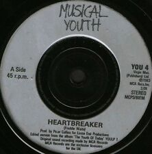 "MUSICAL YOUTH heartbreak  rockers 7"" WS EX/ uk YOU 4"