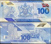 Trinidad & Tobago 100 Dollars 2019 Polymer P NEW UNC