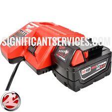 NEW Milwaukee 48-59-1850 M18 48-11-1850 XC 5.0 Battery Charger Starter Kit
