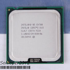 Free shipping Intel Core 2 Duo E4700 LGA 775 (SLALT) CPU Processor 2.6 GHz