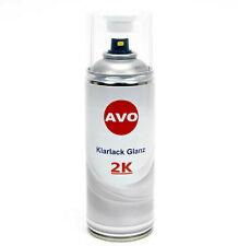 2K-Klarlack Lackspray hochglänzend 400ml benzinfester Autolack AVO E0002