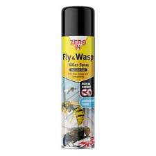 More details for zero in fly & wasp killer spray - 300ml aerosol