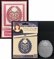 Bib metal die - Tattered Lace cutting dies D562 for baby,shower,announcement