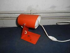 Ancienne Vintage Lampe Spot Plastique Eclairage Déco Loft Atelier années 70