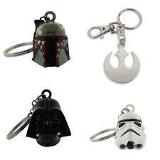 Star Wars Keychain Boba Fett Darth Vader Stormtrooper Rebel Key Chain Cosplay