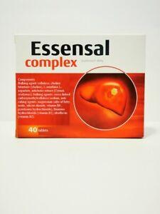 Essensal Complex, 40 tablets liver help