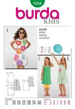 Burda Costura Patrón Kids Vestido Talla 5 - 10 9544
