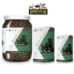 Verm-X Herbal Crunchies For Dogs - Dog Wormers Endoparasite