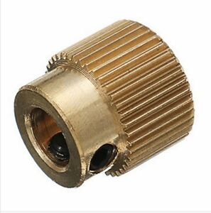 3D Printer Filament Feeder Gear, Creality 3D, 40 teeth Brass wheel Gear