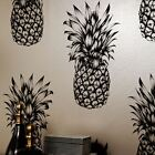TROPICS COPACABANA PINEAPPLE WALLPAPER - BLACK WHITE - ARTHOUSE 690900 NEW
