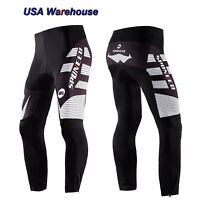 Cycling Pants Men 4D Gel Padded Race Fit Bicycle Trouser MTB Bike Legging Tights