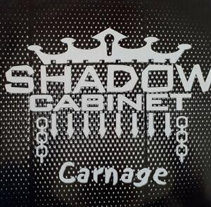 "Shadow Cabinet-Carnage Vinyl 12"" EP Single.1999 X Dimension X 144 000 1."