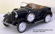 Danbury Mint 1931 FORD MODEL A CLOCK 1/24 XC!