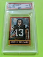 2014 Topps Chrome Kelvin Benjamin RC PSA 10 #6 Panthers