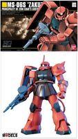 Gundam HG 032 1/144 MS-06S ZAKU II 2 ZEON CHAR'S CUSTOM Bandai Model Kit New