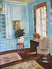 Winston Churchill Le salon bleu de Trent Park lithographie Musée Sao Paulo