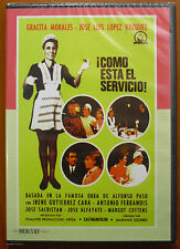 ¡Cómo como está el servicio! [DVD] Gracita Morales,José Luis López Vázquéz NUEVO