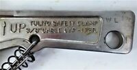 "VTG. TULITO  3/8 "" CABLE  SAFETY CLAMP MEYER  IND. RED WING MINN."