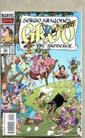 Groo The Wanderer #104-1993 vf 8.0 Marvel Sergio Aragones low print run issue