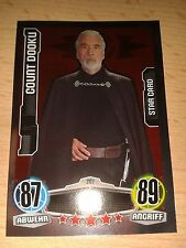Force Attax Star Wars Movie 1 Star-Karte Nr.207 Count Dooku Sammelkarte