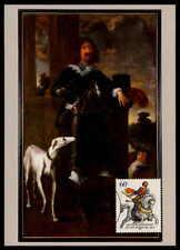 BRD MK 1991 JAN VON WERTH HUND PFERD MAXIMUMKARTE CARTE MAXIMUM CARD MC /m793